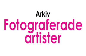 Fotograferade artister