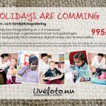 Holidays are comming: Fotoerbjudande inför julkorten