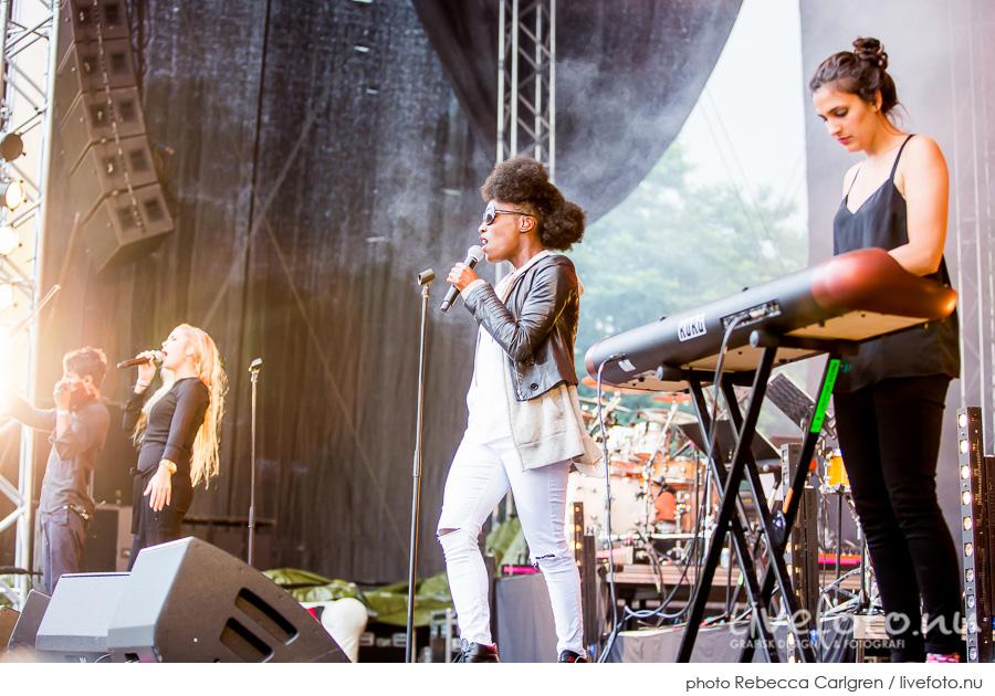 Clean Bandit på Götaplatsen, RIX FM-festival