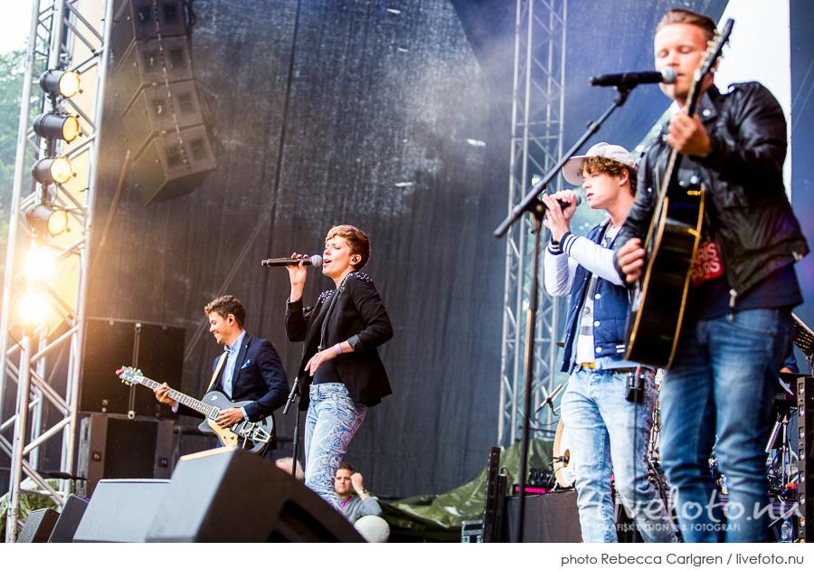 Donkeyboy på Götaplatsen, RIX FM-festival
