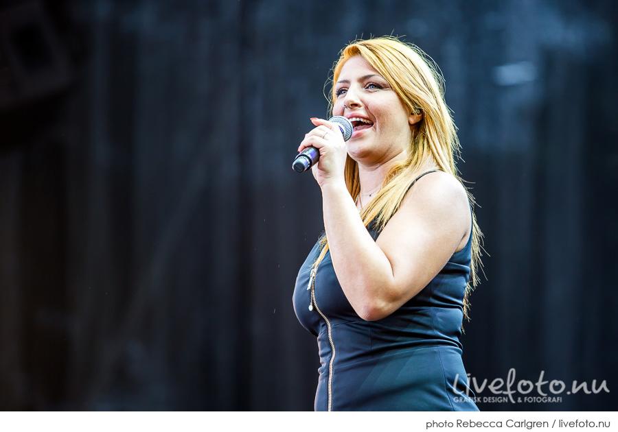 Helena Paparizou på Götaplatsen, RIX FM-festival