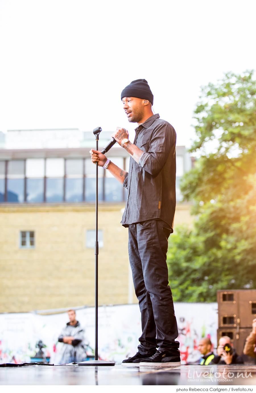 Mr. Probs på Götaplatsen, RIX FM-festival