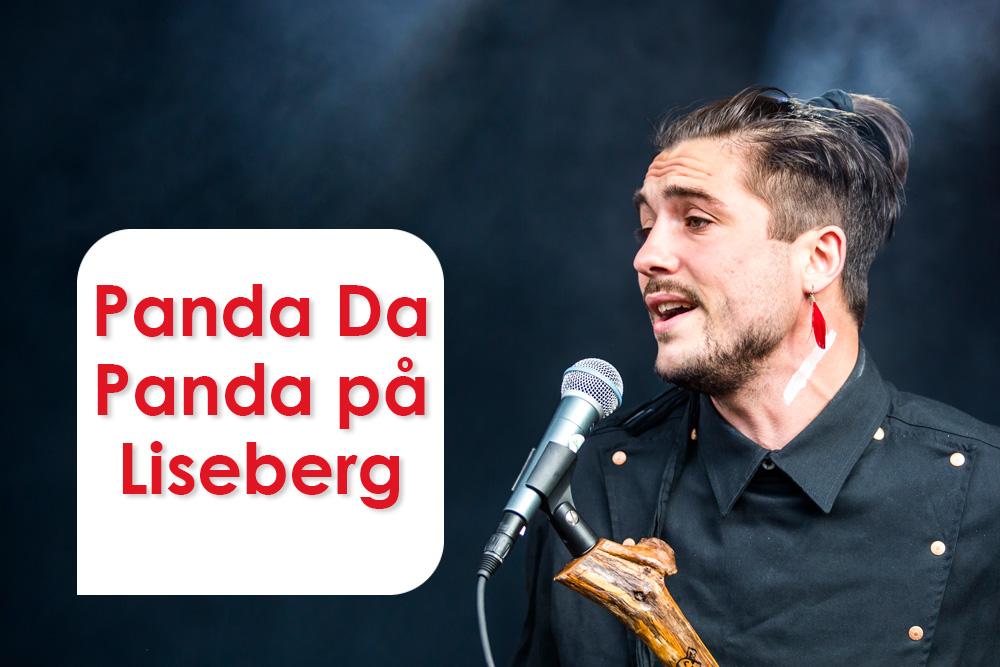 Panda Da Panda live på Liseberg 2013