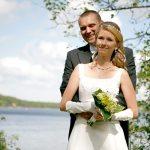 Bröllopsfoto – Sandra & Kristian Oxelbark