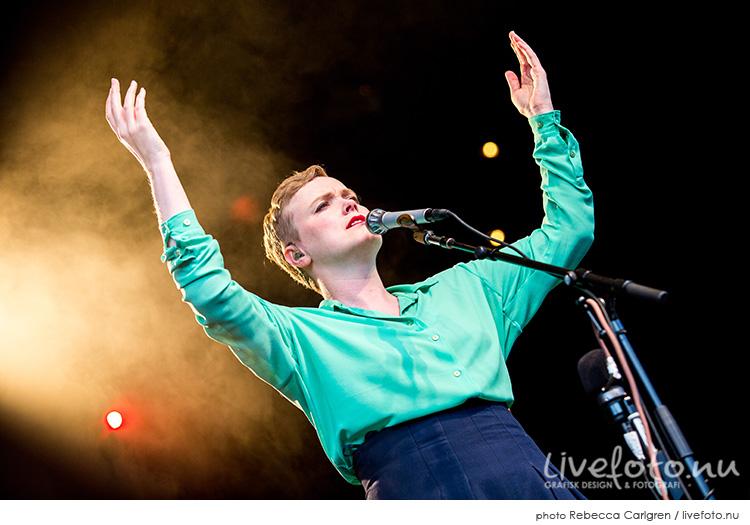 Ane Brun på Lisebergs stora scen