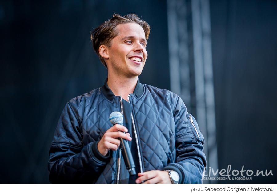 Albin på Götaplatsen, RIX FM-festival