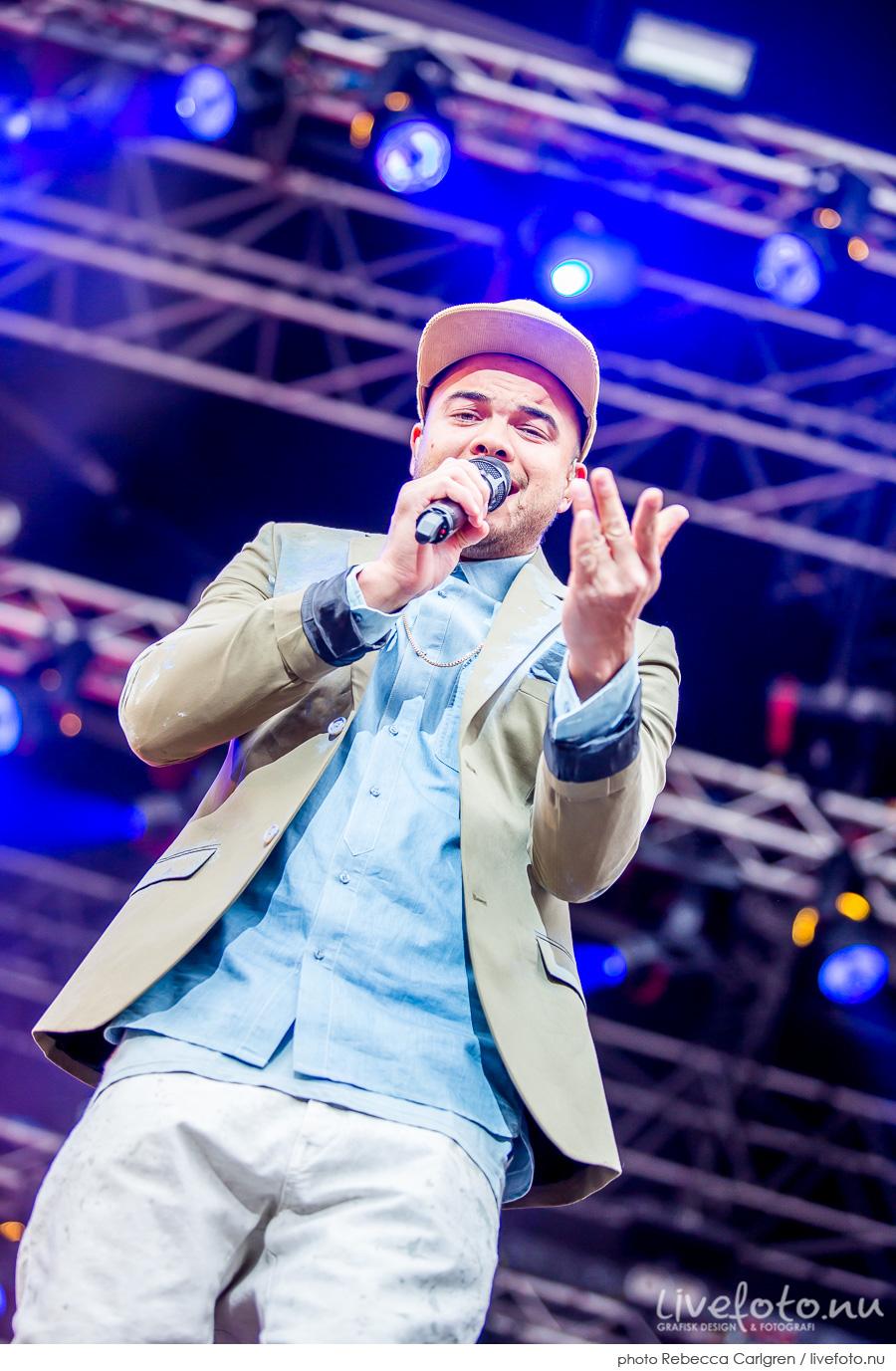 Guy Sebastian på Götaplatsen, RIX FM-festival